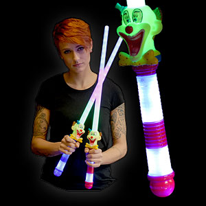 0579-024 LED Neon Schwert Clown